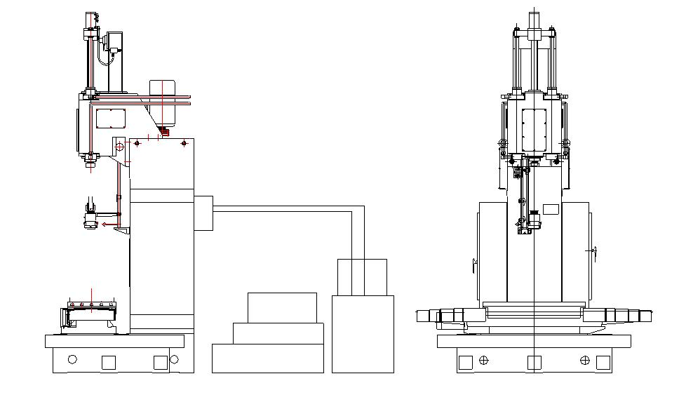 Vertical Honing Machine Tool
